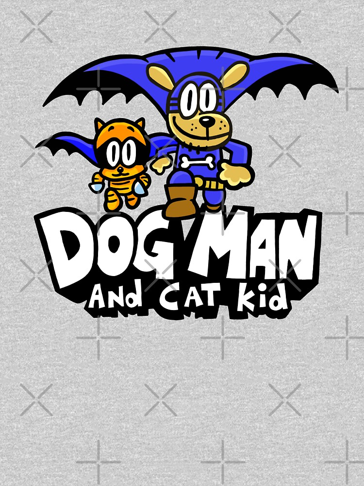 Dog Man with Cat Kid by TheBeatlesArt