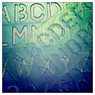 transparent stencil still life by busbydeebar