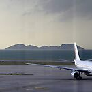Dragon Air A330 Hong Kong  by Mark  Lucey
