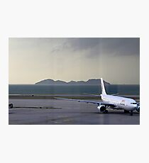 Dragon Air A330 Hong Kong  Photographic Print