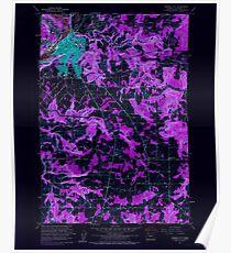 USGS Topo Map Oregon Oregon City 281001 1961 24000 Inverted Poster