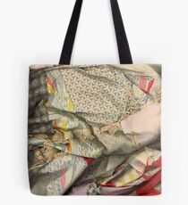 1931 quilt piece Tote Bag