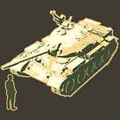 Tank Man AKA The Unknown Rebel by LibertyManiacs