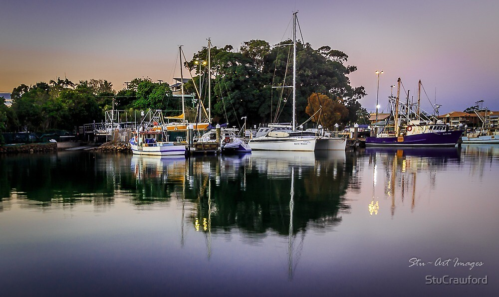 Reflections in the Harbour by StuCrawford