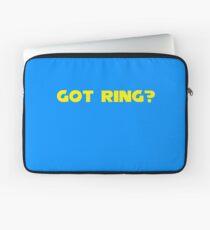 Got Ring? Laptop Sleeve