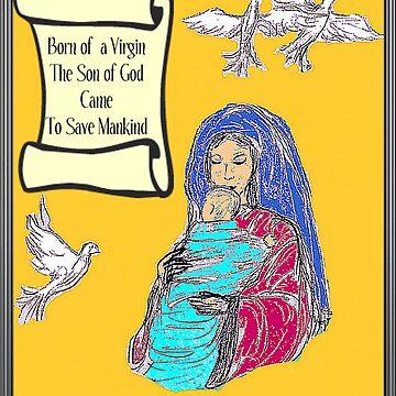 The Virgin Birth by Charldia