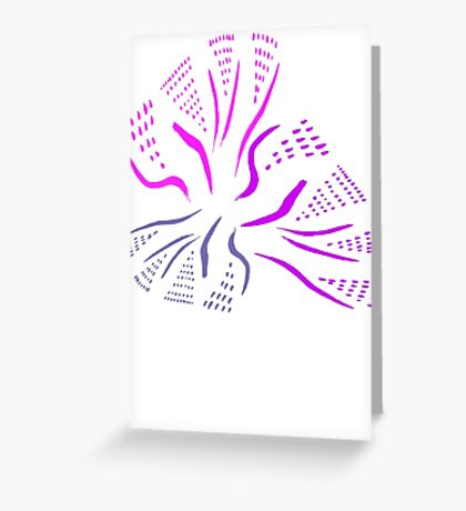 Dashed Bouquet Greeting Card