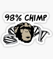 98% Chimp Sticker