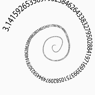 black pi spiral by snowghost