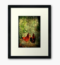 """""""They looked Here ....They looked there ....! Framed Print"""