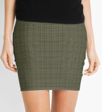00110 Cape Breton (yellow stripes) District Tartan  Mini Skirt