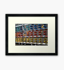 Bumper lights  Framed Print