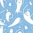 Ghosties - Blue by itsaduckblur