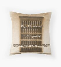 BANNER FOR WINDOWS Throw Pillow