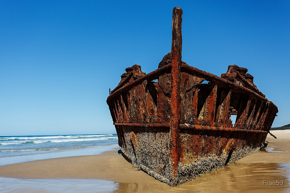 Wreck of the Maheno by Fran53