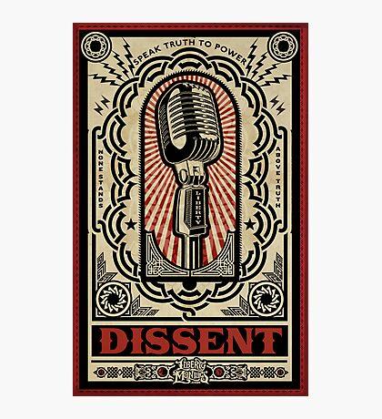 Dissent Photographic Print