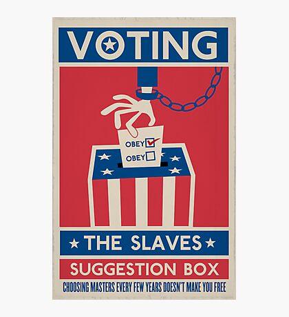 Voting Photographic Print