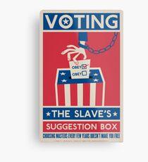 Voting Metal Print