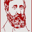 Henry David Thoreau by LibertyManiacs