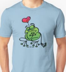 Broken Hearted Frog Slim Fit T-Shirt