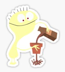 Cheese - Fosters Home For Imaginary Friends - Lustiger Charakter Sticker