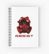 Resist! Spiral Notebook