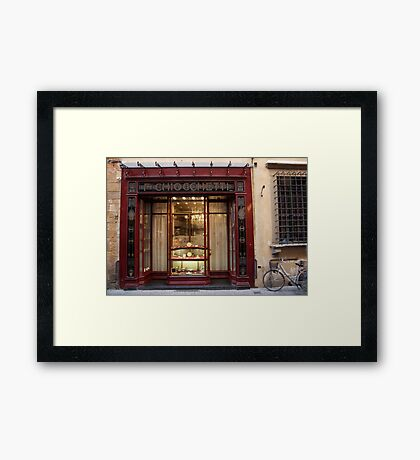 cityscapes #162, No 20 Framed Print