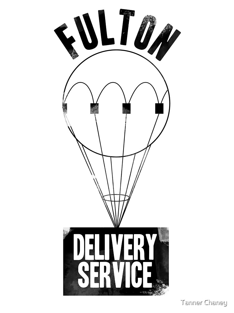 Fulton Delivery Service! (Distressed) by Tanner Chaney