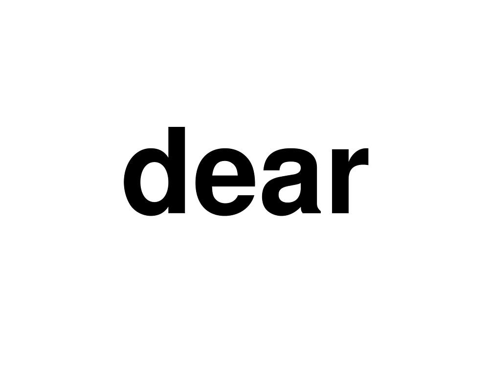 dear by ninov94