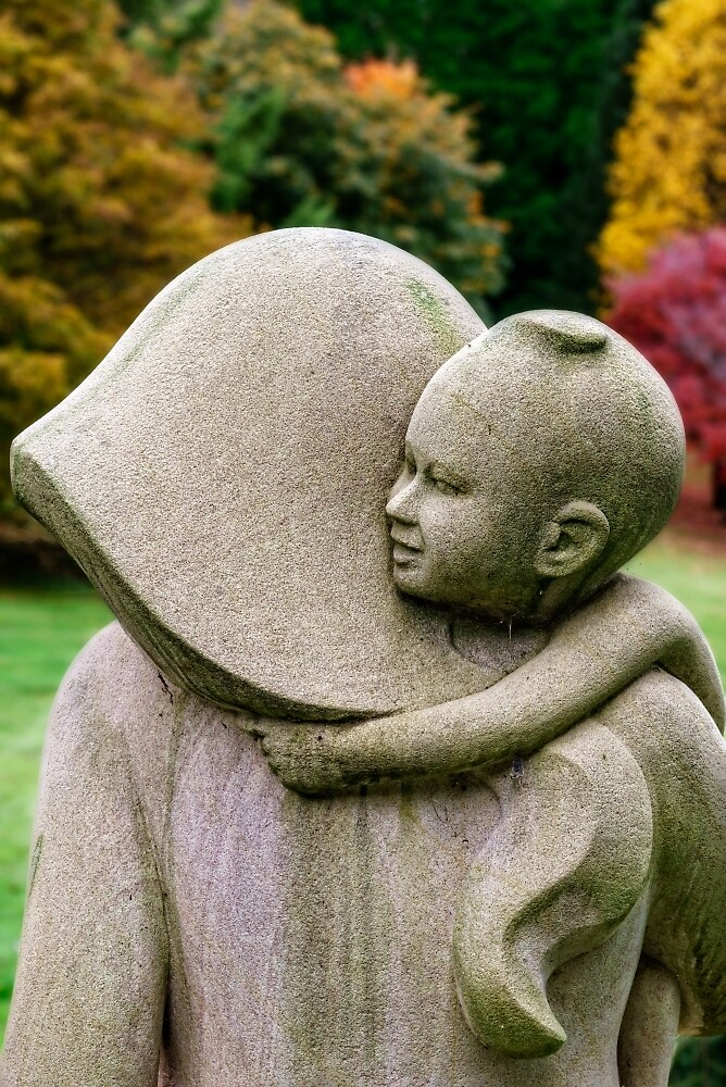 MOTHER and CHILD - Ilona AbouZolof  by MtWilsonGifts