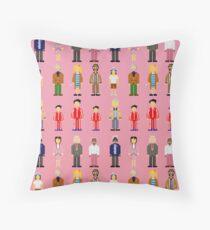 The Royal Pixelbaums Throw Pillow
