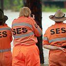 SES volunteers by Kym Howard
