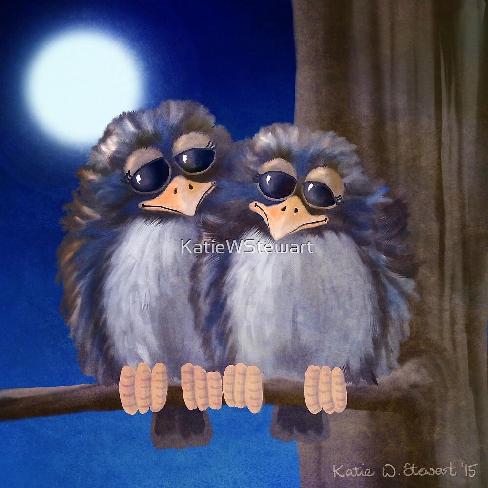 Baby Birds by KatieWStewart