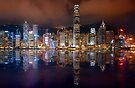 Skyline of Hong Kong 2015 by Delfino