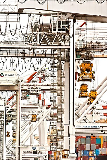 Melbourne Docks by Paul Louis Villani