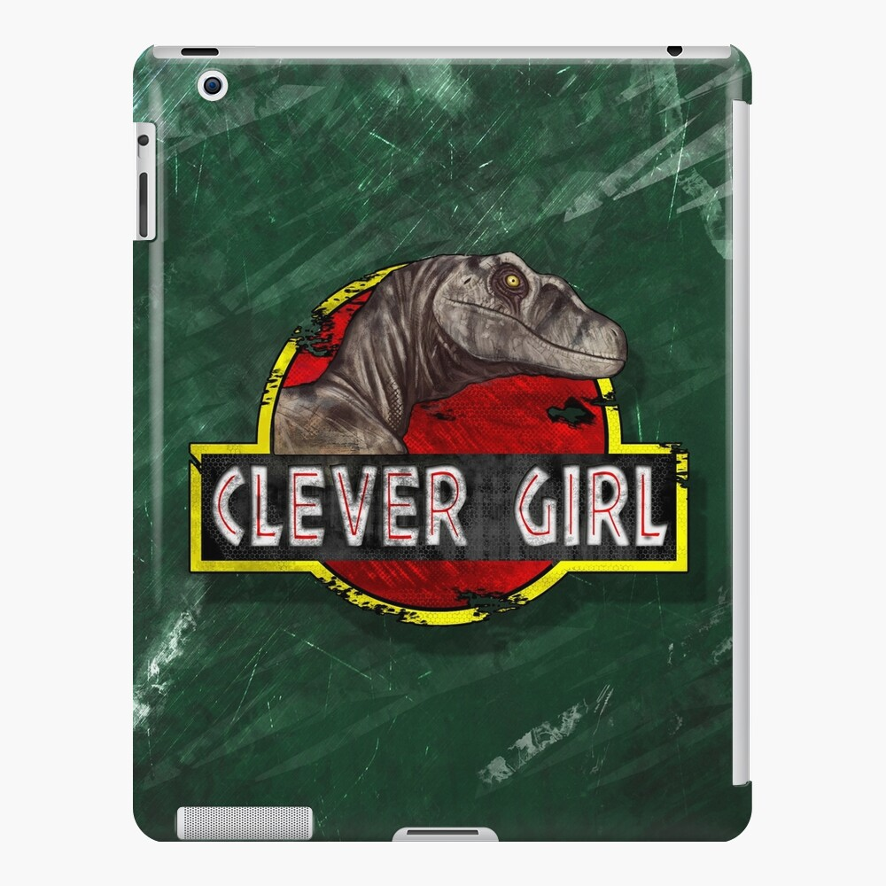 Clever Girl iPad Case & Skin