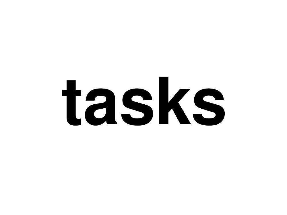 tasks by ninov94