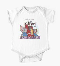 We All Scream for Starscream (light tee) Kids Clothes