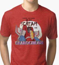 We All Scream for Starscream (light tee) Tri-blend T-Shirt