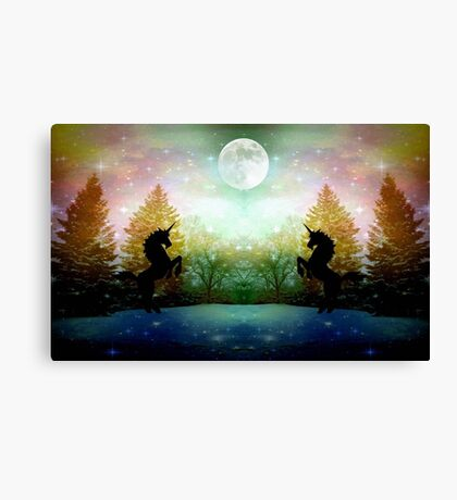 Moon Light Dance ©  Canvas Print