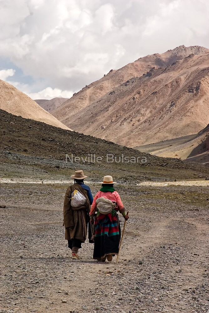 A Day in the Life of Tibet #1 - In The Footsteps of the Pilgrim by Neville Bulsara