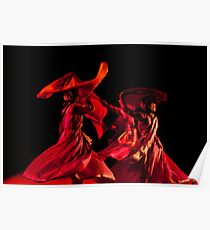Contemporary Indian Classical Dance Poster