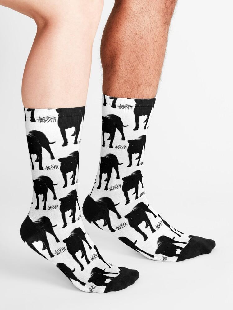 Alternate view of I love my Am Staff Socks