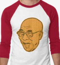 Dalai Lama Disobey Men's Baseball ¾ T-Shirt