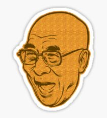 Dalai Lama Disobey Sticker