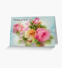Thinking of You - Card Greeting Card