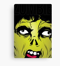 Zombie Scream Canvas Print