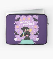 Hocus POCUS! Lucky the Black Cat Laptop Sleeve