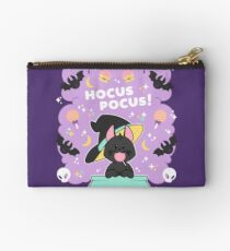 Hocus POCUS! Lucky the Black Cat Zipper Pouch
