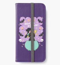 Hocus POCUS! Lucky the Black Cat iPhone Wallet/Case/Skin